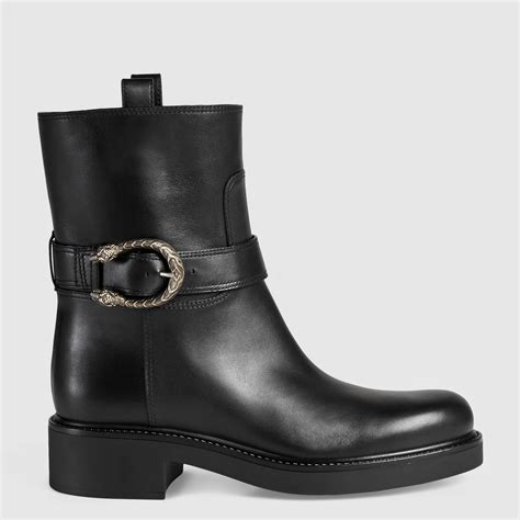 Ankle Leather Booties leather ankle boot gucci s boots booties