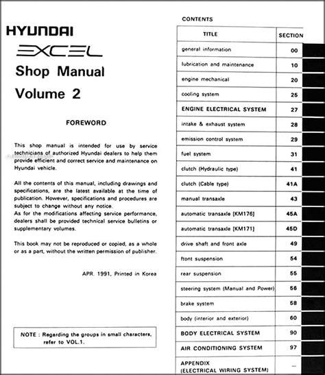 service manual 1992 hyundai excel fuse manual 1994 hyundai excel brake fuse manual daewoo