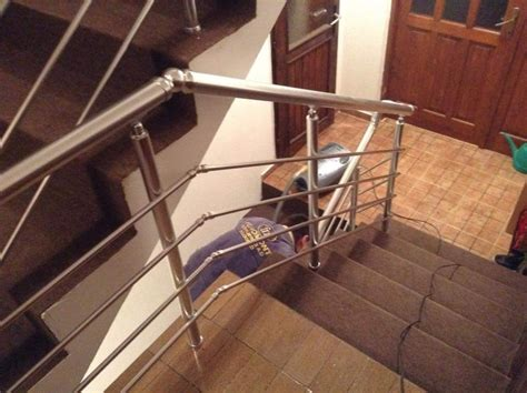 removable banister aluminium stainless steel stair balustrades handrail aluminum indoor stair handrail removable