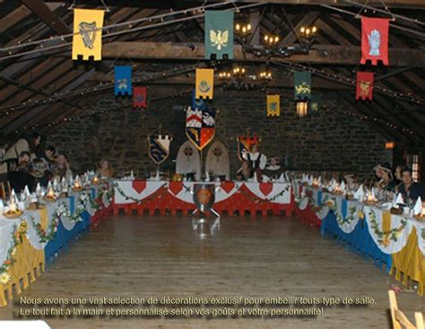 Medieval Decorations | mariage medieval decorations prom shizz pinterest