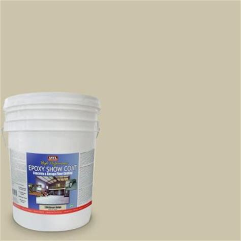anvil 5 gal desert beige epoxy show coat interior