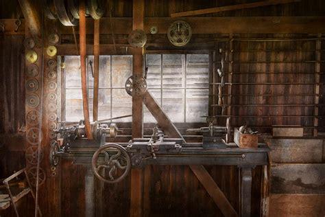 Garage Workshop Plans Designs steampunk machinist my tinkering workshop photograph