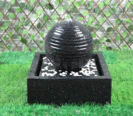 solar powered water feature with lights black solar on demand with led lights