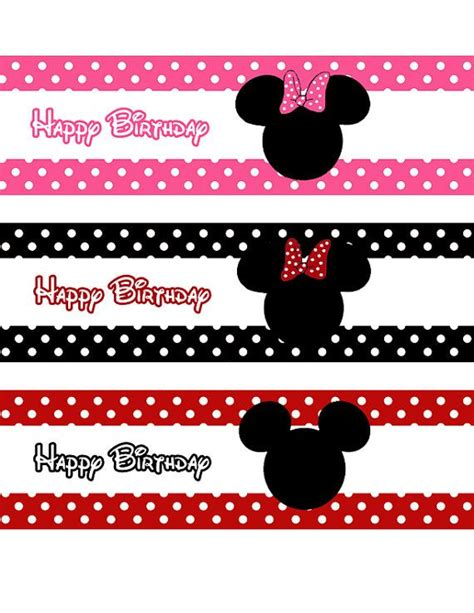 Label Nama Disney Mickey L 233 best images about minnie mouse printable on disney mickey minnie mouse and free