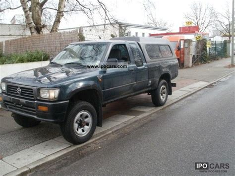1996 Toyota 4x4 1996 Toyota Hilux 4x4 Xtra Cab 2 5 Diesel Car Photo And