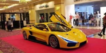 Car Shocks Philippines You Heard Of Aurelio The Made Supercar