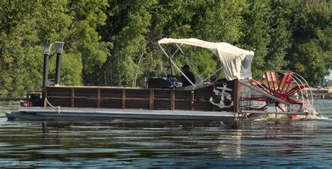 old boat paddles and you thought you didn t need a paddle porsche pontoon