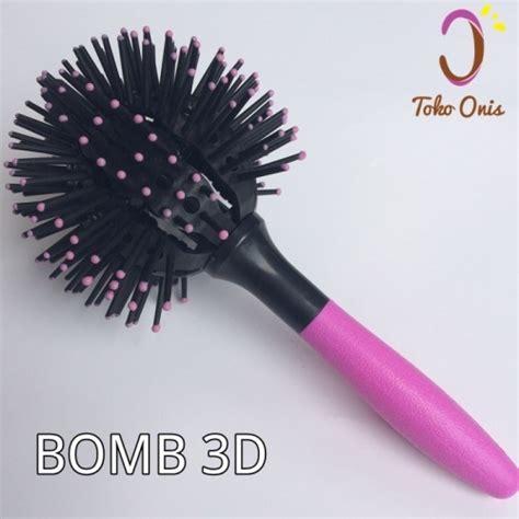 Catokan Plus Curly sisir bomb curl brush 3d kode om13 toko onis