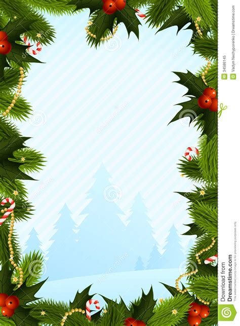 christmas card template stock vector image of shape
