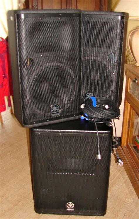 Speaker Aktif Yamaha Dsr112 yamaha dsr112 image 747348 audiofanzine