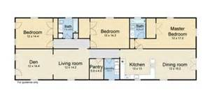 Shotgun Houses Floor Plans Double Shotgun House Floor Plan Galleryhip Com The