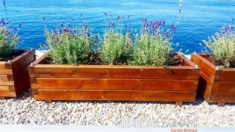 fioriere da esterno in legno vasi legno da esterno cereda legnami agrate brianza