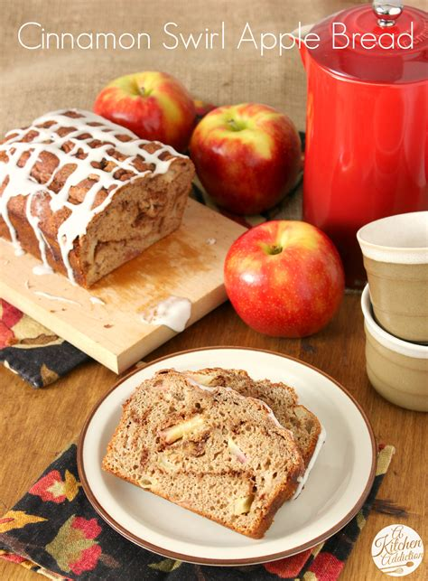 whole wheat cinnamon swirl apple bread a kitchen addiction