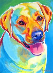 labrador pet portrait dawgart dog art pet portrait artist