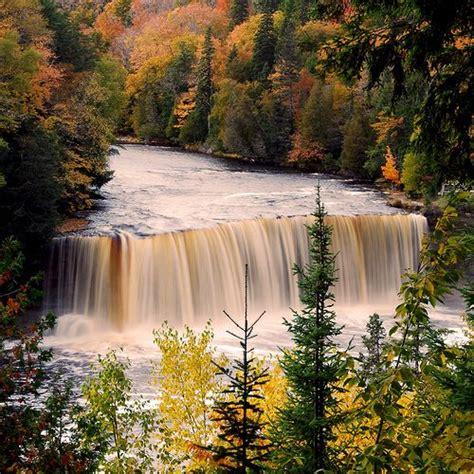 Cabins Near Tahquamenon Falls by Tahquamenon Falls Michigan Michigan Facts