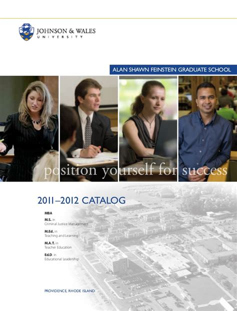 Pfeiffer Graduate Course Mba Catalog by Johnson Wales Graduate Courses Catalog