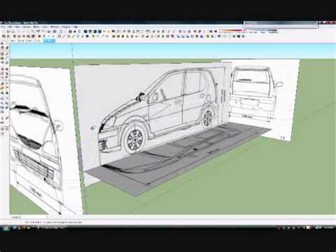 sketchup tutorial walkthrough full download how to make car with sketchup setting car