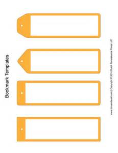 blank bookmarks template bookmark templates yellow tim s printables