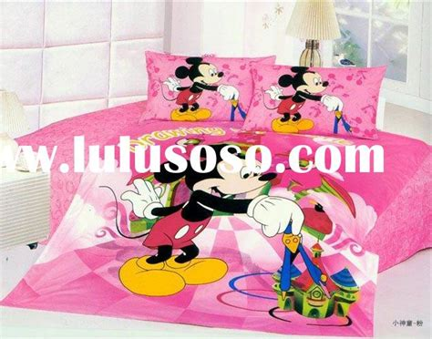Set Mickey Kid minnie mouse size bedding set minnie mouse size