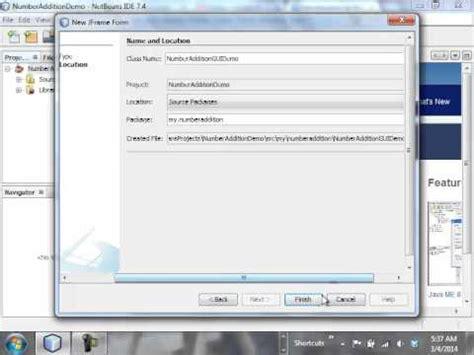 php tutorial on netbeans netbeans gui tutorial