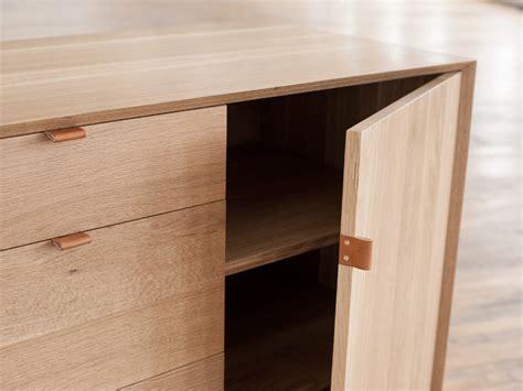 Recessed Kitchen Cabinets poign 233 e en cuir pour meuble le d 233 tail qui change tout