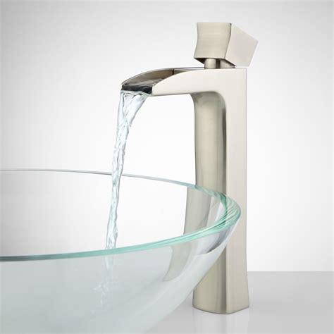 waterfall faucet bathroom corbin waterfall vessel faucet bathroom