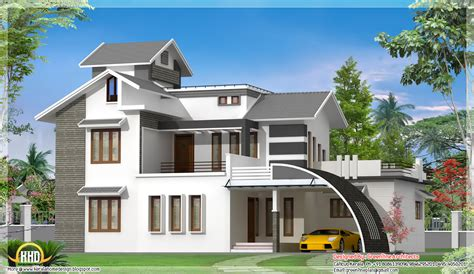 modern house plans india contemporary indian house design 2700 sq ft kerala home design and floor plans