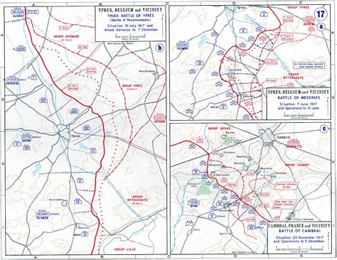 one map ypres world war 1 maps cka