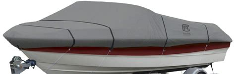 Classic Accessories Boat Cover Trailerable With All Weather Ripstop Fabric Ebay Boat Cover Templates