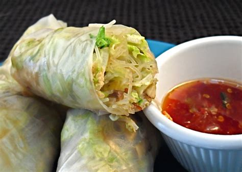 How To Make Rice Paper Recipe - smoked salmon rice paper wraps recipe australian food