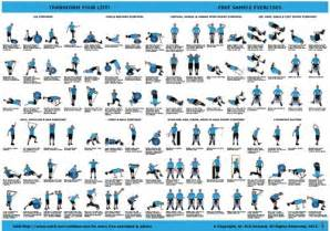 best photos of free printable workout routine