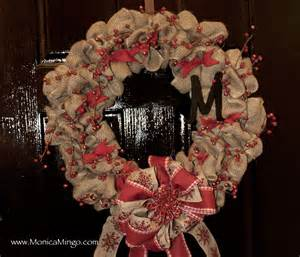 how to make a burlap wreath with two colors how to make a burlap wreath for easy and