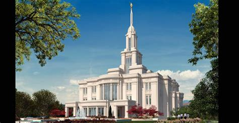 payson temple open house payson utah temple open house and dedication church news