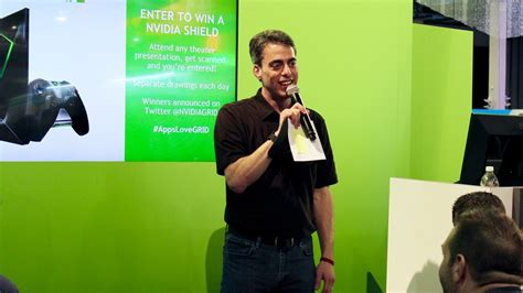 trade show presenter spark presentations spark trade show presenter shines at vegas convention