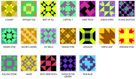9 Patch Quilt Block Pattern by Nine Patch Pieced Quilt Blocks