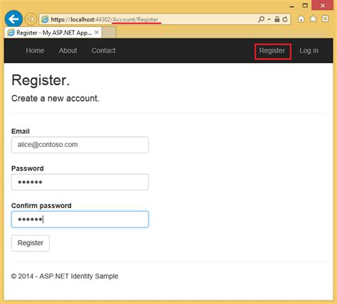 login page in asp net template account confirmation and password recovery with asp net