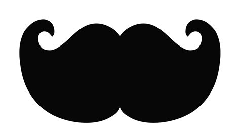 clipart mustache 100 mustache clip images black and white