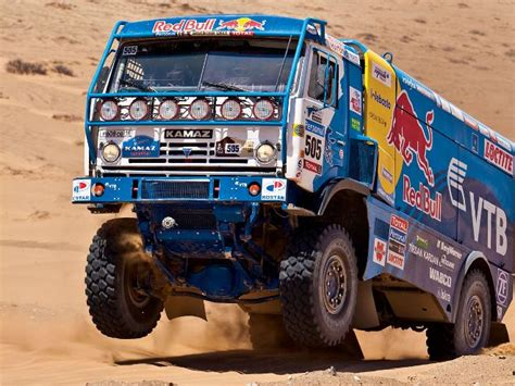 rally truck from russia with love kamaz t4 dakar race truck diesel