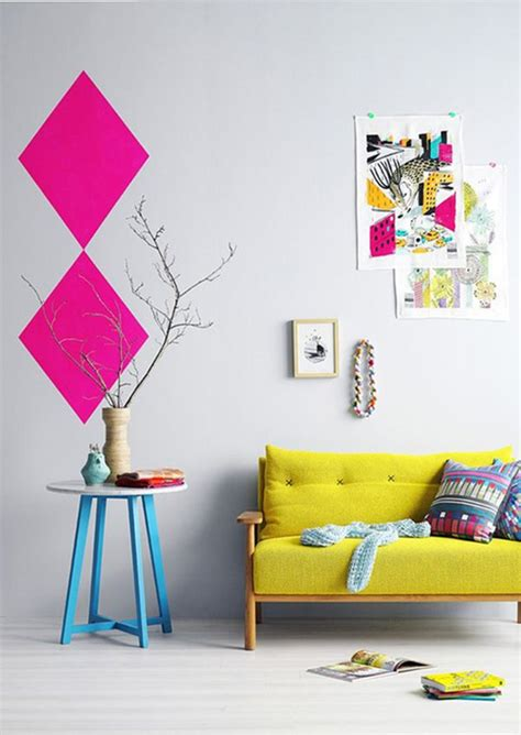 colorful interior 7 clever ways to color block your home the interior collective