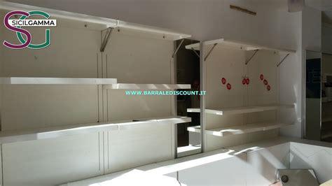 scaffali bianchi scaffali bianchi negozio 3082 barrale discount