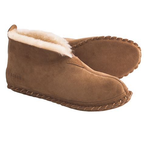 bootie slippers for acorn sheep bootie slippers sheepskin for save 62