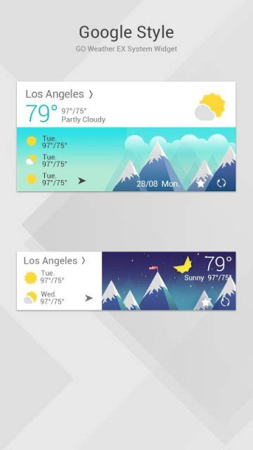 google themes with stylish google style theme goweatherex download apk for android