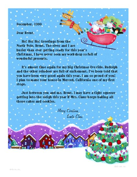 free printable postcards from santa quot from santa quot christmas printable card blue mountain ecards