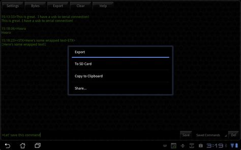 terminal 2 apk slick usb 2 serial terminal 2 1 apk android tools apps