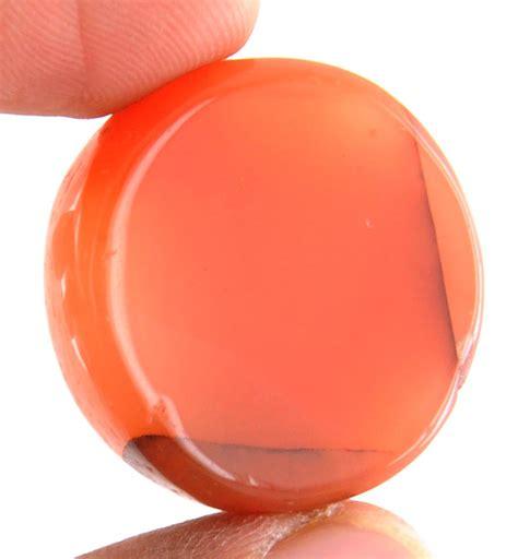 orange healing carnelian gemstone sale in india
