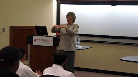 Overcoming The Glass Ceiling by Dean S Executive Speaker Series Ellyn Mccolgan