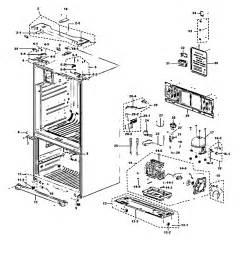 refrigerator parts samsung refrigerator parts diagram rf267aers