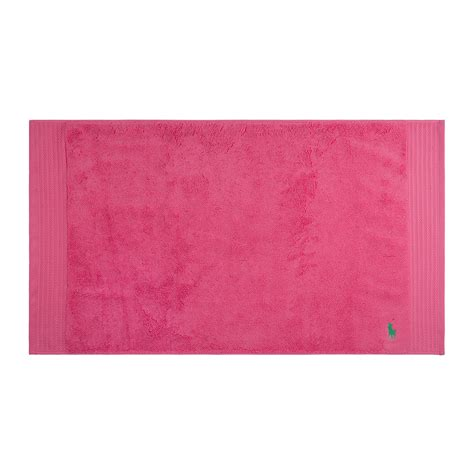 pink bath towels and rugs buy ralph home player bath mat amara