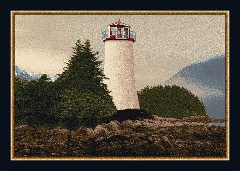 lighthouse area rug 4x6 milliken cape 12000 sapphire lighthouse area rug approx 3 10 quot x5 4 quot ebay