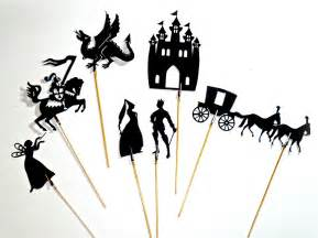 shadow puppet templates fairytale shadow puppets felt